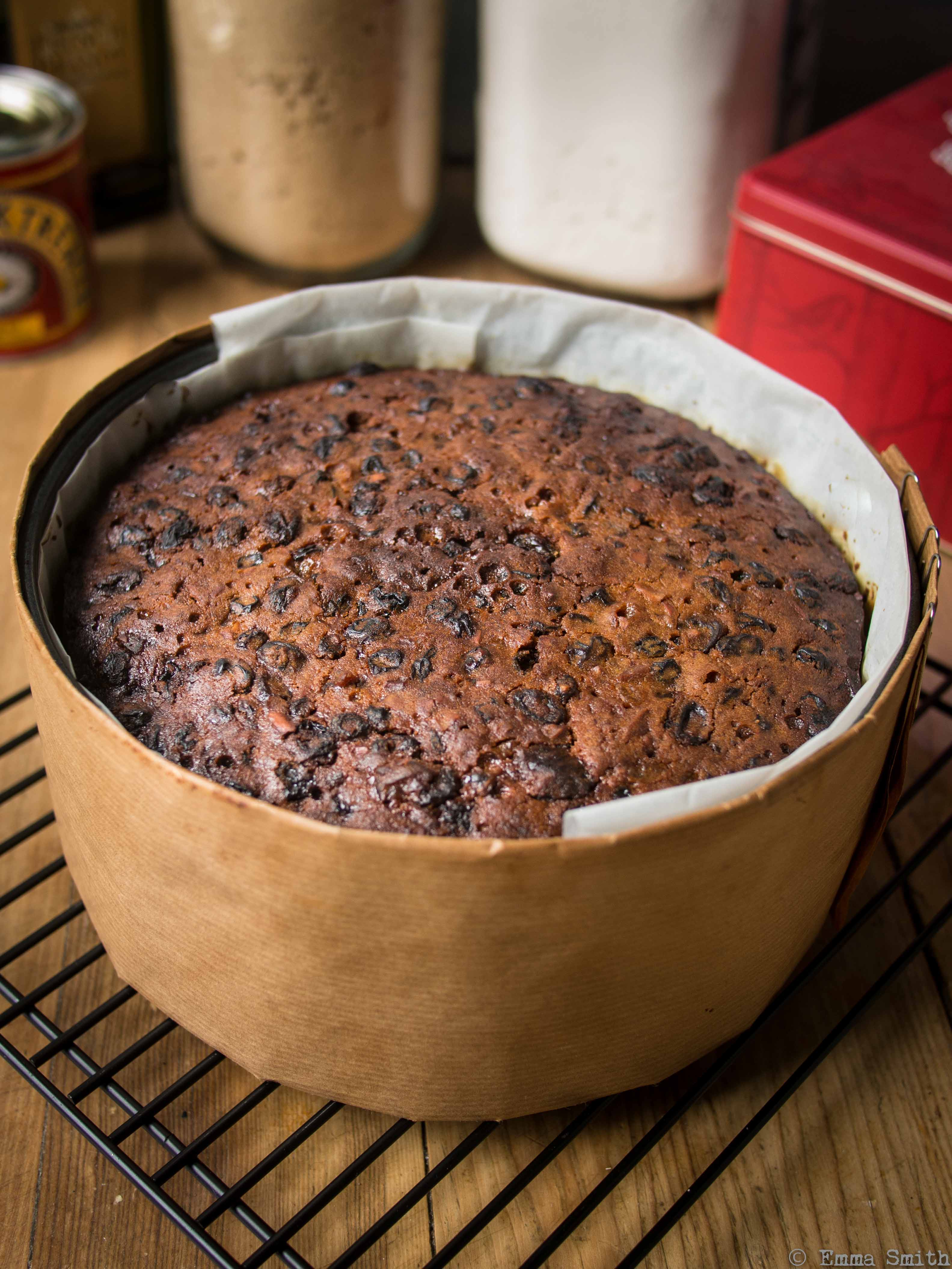 Whisky Or Brandy In Christmas Cake