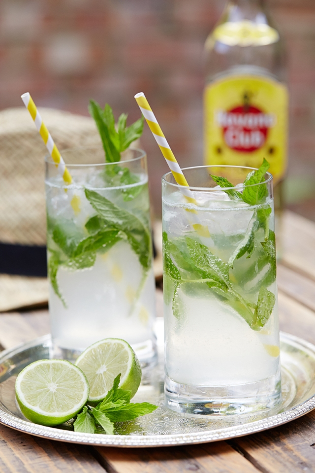 Mojito cocktail havana club