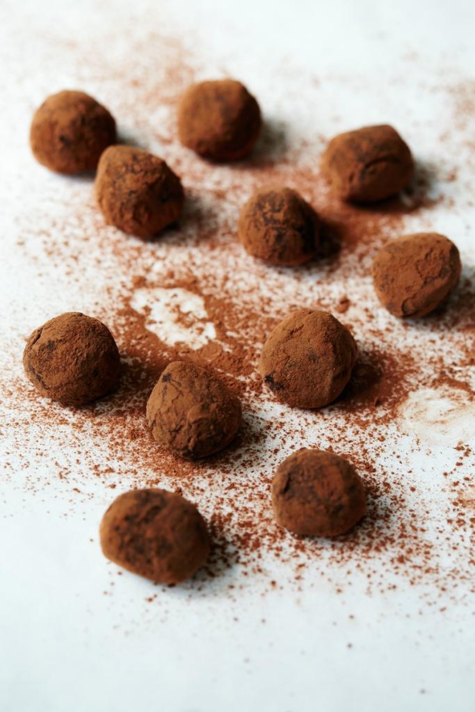 whisky ginger truffles