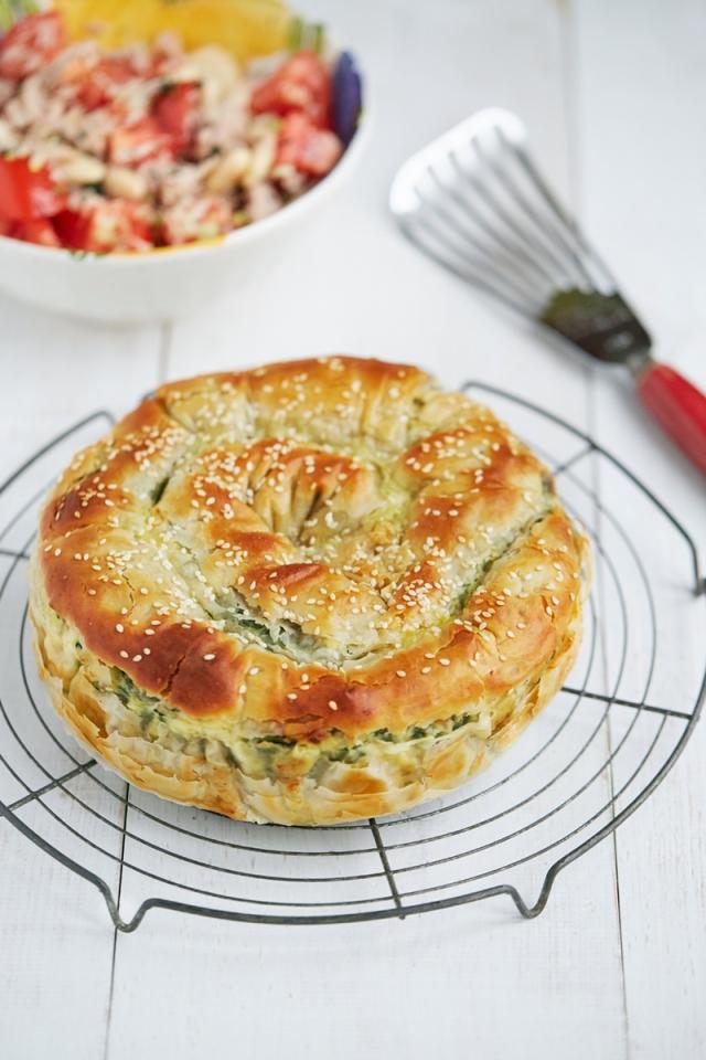 Spanakopita Feta and spinach pie