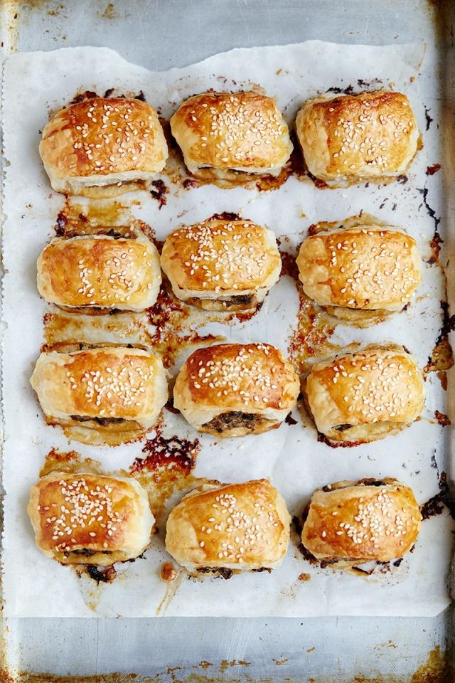 Marmite Sausage Rolls