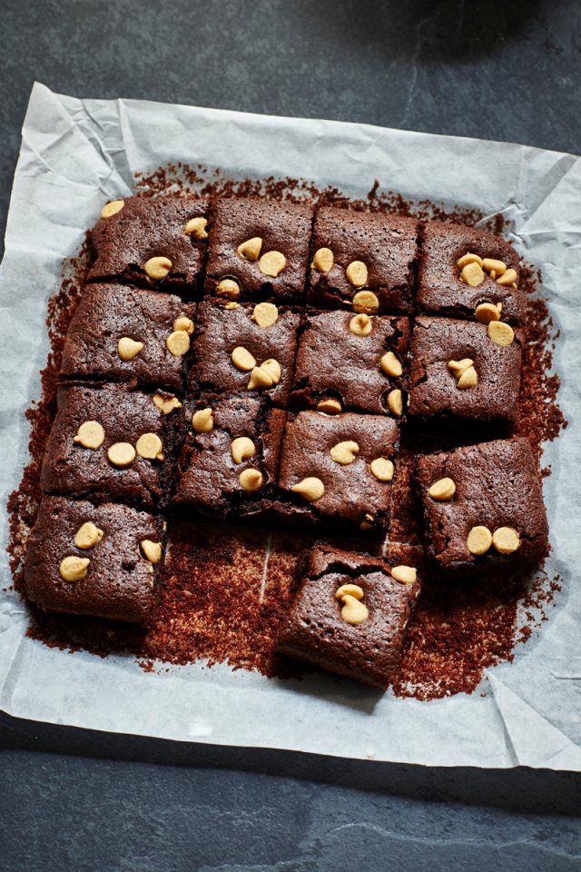 Lower fat Chocolate brownies
